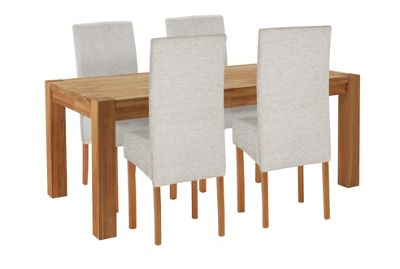 Buy Heart of House Aspley Wood Table and 4 Skirted Chairs  : 4398000RSETTMBampwid620amphei620 from www.argos.co.uk size 620 x 620 jpeg 22kB