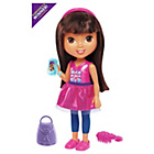 more details on Fisher-Price Nickelodeon Dora & Friends Chat with Me Dora.
