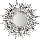 more details on Premier Housewares Abellona Silver Polyresin Wall Mirror.