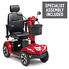 more details on Ambassador 4 Wheel (Class 3) Mobility Scooter - Red.