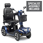 more details on Ambassador 4 Wheel (Class 3) Mobility Scooter - Blue.