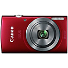 more details on Canon IXUS 160 20MP 8x Zoom Camera - Red.