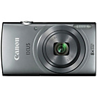 more details on Canon IXUS 160 20MP 8x Zoom Camera - Silver.