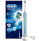 more details on Oral-B Pro 600 FlossAction Rechargeable Electric Toothbrush.