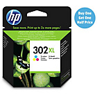 more details on HP 302XL High Yield Tri-colour Ink Cartridge (F6U67AE).