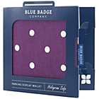 more details on Blue Badge Company Spotty Grape Display Wallet.