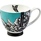 more details on Zen Garden Bone China Footed Mugs - Set of 2.