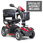 more details on Envoy 4 Wheel (Class 2)  Mobility Scooter - Red.