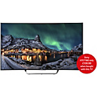 more details on Sony KD55S8005C 55Inch 4K UltraHD FreeviewHD Smart Curved TV