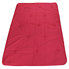 more details on ColourMatch Futon Double Deluxe Mattress - Poppy Red.