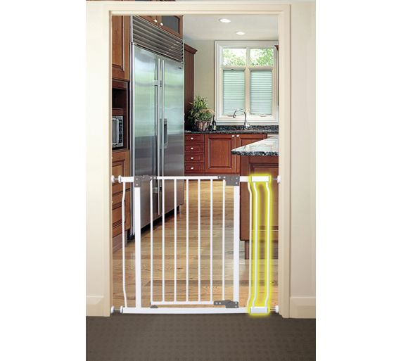Buy Dreambaby Extra Tall 9cm Wide Gate Extension White