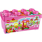 more details on LEGO® DUPLO® All-In-One Pink Box of Fun - 10571.