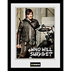 more details on GB Eye Walking Dead Who'll Survive Framed Print.