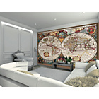 more details on 1Wall Antique Map Giant Wall Mural