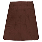 more details on ColourMatch Futon Double Deluxe Mattress - Chocolate.