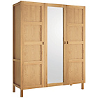 more details on Habitat 3 Door Wardrobe - Oak.