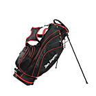 more details on Ben Sayers Golf X-Lite Stand Bag - Black/Red.