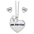 more details on 1D Liam Heart Necklace and Earrings Set.