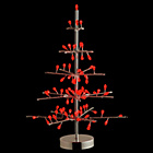 more details on Habitat Natale 81 LED Round Tree - Red & Silver.