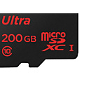 more details on SanDisk Ultra 90MBs MicroSD SD Memory Card - 200GB.