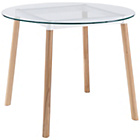 more details on Habitat Bryce Circular Glass Dining Table.