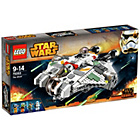more details on LEGO Star Wars The Ghost 75053.