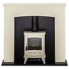 more details on Adam Derwent Electric Suite - Cream and White.