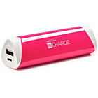 more details on Techlink Recharge 2600 mAh Portable Powerbank - Pink.