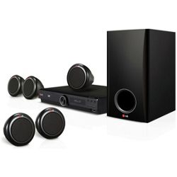LG DH3140S 5.1 Channel Home Theater System - Black