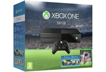 Xbox One with FIFA 16, Tomb Raider & Star Wars Battlefront now only £314.99.