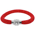 more details on Link Up Single Row Red Crystal Bracelet.