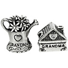 more details on Link Up Sterling Silver Grandma's House Charms - Set of 2.