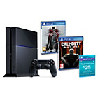 more details on PS4, Call of Duty: Black Ops 3, £25 PSN Voucher Pre-order.