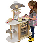 more details on Liberty House Toys Wooden Toy Kitchen - Grey.