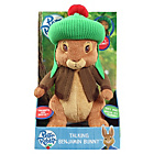 more details on Vivid - Peter Rabbit Talking Plush - Benjamin.