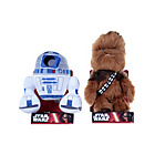 more details on Star Wars: The Force Awakens Plush Toys - R2D2/Chewbacca.