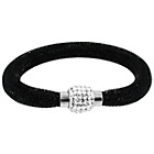 more details on Link Up Single Row Black Crystal Bracelet.