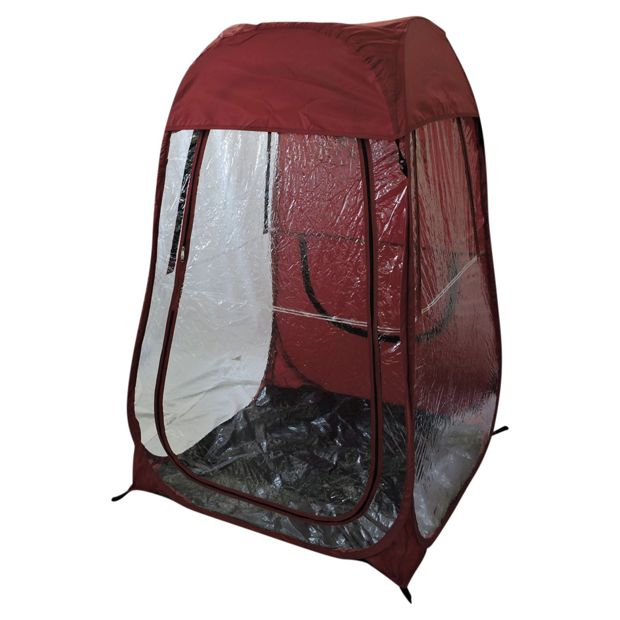 Personal Pop Up Shelter : Buy under the weather pop up personal shelter maroon at
