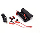more details on Targus Bluetooth Earbuds - Red.