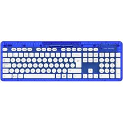 PDP Rock Candy Wireless Keyboard - Blueberry Bloom