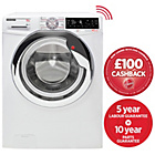 more details on Hoover Wizard DWTL610AIW3 10KG Wi-Fi Washing Machine- Exp.