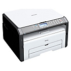 more details on Ricoh SP213SUW 22ppm Mono USB Wi-Fi Multi Function Printer