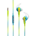 more details on Bose SoundSport In Ear Headphones MFI Neon - Blue.