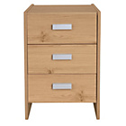 more details on New Capella 3 Drawer Bedside Chest - Pine Effect.