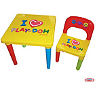 more details on Play-Doh Activity Table.