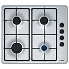 more details on Bosch PBP6B5B60 Gas Hob - Stainless Steel.