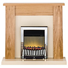 more details on Adam New England Electric Stove - Oak and Cream.