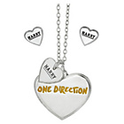 more details on 1D Harry Heart Necklace and Earrings Set.