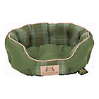 more details on Scruffs Kennel Club Small Dog Donut Bed - Olive.