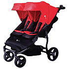more details on MyChild Easy Twin Stroller - Red.